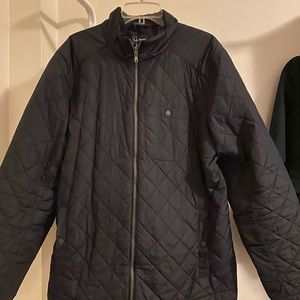 LL Bean Black Quilted Jacket